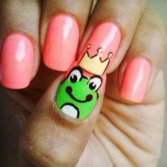 hehe, funny. It'd be more fun with different hats on each nail.