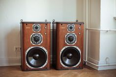 Speakers. Oh how you loved you're speakers!