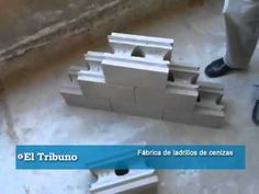 Fábrica de ladrillos de cenizas volcánicas - YouTube Interlocking Concrete Blocks, Cinder Block Walls, Brick Wall, Architecture Details, New Homes, Make It Yourself, Building, Garden, Projects
