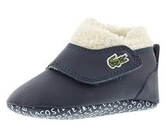 8e00cd517a779 Lacoste Baby B Snug RBR Slip On InfantToddler Dark BlueDark Blue 3 M US  Infant    Check this awesome product by going to the link at the image.