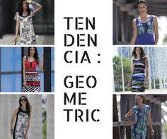 TENDENCIA: Geometric | Marca tendencia con estos frescos y cómodos vestidos by #Massana #Mujer #Summer #Spring #Dress #Massanaoutwear