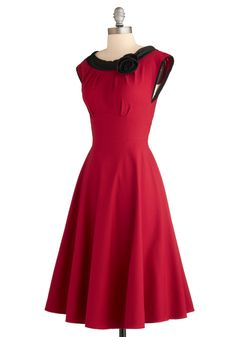 "Absolutely love this dress ""Red-y for my close up"""