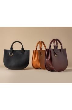 A.P.C. Sac Marion Leather Tote | Nordstrom