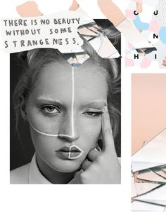 Aesthete Label love - Bianca Gobalesa EDT // collage art edit digital graphic design