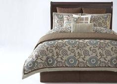 Bedrooms, Bennett Bedding Ensemble, Bedrooms | Havertys Furniture