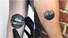 20 Detailed Tattoos That Fit Perfectly Into Small Circles.