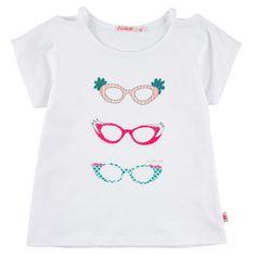 Billieblush - Cotton jersey T-shirt - White - 102682