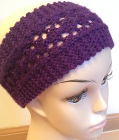 This video is made in corresponding to Easy Lacy Headband pattern which can be found at; http://www.to-knit-knitting-stitches.com/easy-lacy-headband.html Thi...