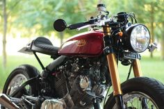 Yamaha XV 750 Virago Cafe Racer by Jean-Pierre #motorcycles #caferacer #motos | caferacerpasion.com