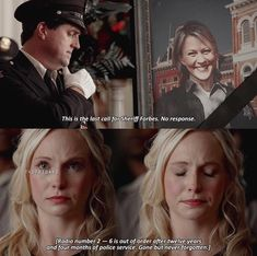 That was the part that got me really upset for Caroline Be brave Caroline