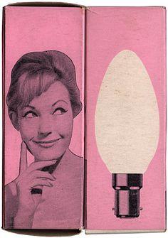 Maraid Design | Blog » Found/Ephemera  pink light
