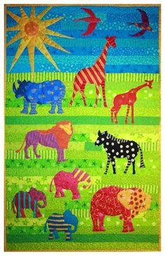 Safari Cot Quilt Pattern