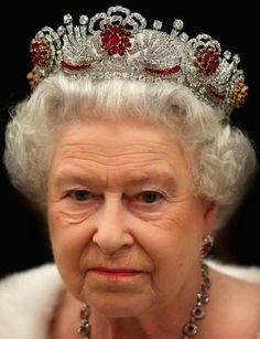 Tiara Mania: Queen Elizabeth II of the United Kingdom's Burmese Ruby Tiara