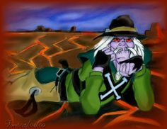 "One of my best pics of Tex Hex. From the 1988 Filmation Series, ""Bravestarr."""