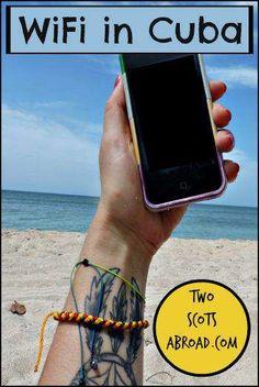 Internet and WiFi in Cuba