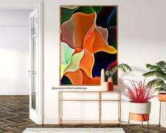 INSTANT digital download-Colorful waves art set of 2-Printable   Etsy Wave Art, Color Show, Happy Shopping, Giclee Print, Modern Art, Digital Prints, Waves, Printables, Colorful