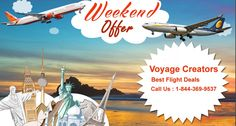 Book Cheap Flights NOW with Voyagecreators.com!  >>Plan your holidays to the destinations worldwide with cheap airline tickets and bargained airfares via Voyagecreators.com. From family vacations and romantic holidays, to weekend escapades, Voyagecreators.com provides you all international and domestic discounted flight tickets with lowest fares of the season. >>#bookcheapflightticketsonline #cheapairlinetickets #CheapFlightTicket #flightticketbooking #lowestprice airtickets