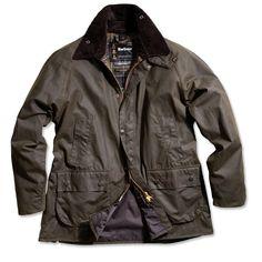 Barbour Bedale Waxed Cotton Jacket - Classic Olive | Nowells Clothiers