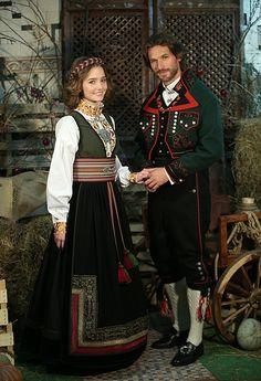 Folk Costume, Costume Dress, Costumes, Wicked Ways, Folk Clothing, People Around The World, Traditional Dresses, Nightwear, Norway