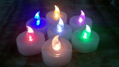 TeaLight LED Candles: BrandSTIK offers the smallest version called tea light candles . These are perfect to be kept in any corners of the house due to its compact size Led Candles, Tea Light Candles, Tea Lights, People Shopping, Party Shop, Goodie Bags, Birthday Candles, Party Supplies, Balloons