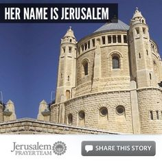 She is the capital of Israel. She has been called the Holy City, the City of David, the City of Peace, the House of Holiness, the Abode of Peace, the Heavenly City, the Home of Justice, the Faithful City (Isaiah 1:26), and the Dwelling Place of the Lord (Psalm 135:21).