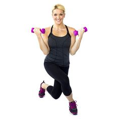 Crossover+Lunge+With+Bicep+Curl