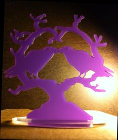 Purple #Raven Cake Topper 'Nevermore' #Wedding by BungalowGlow,