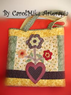 by CarolMika Arterapia  Patchwork Bag