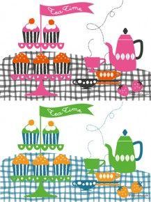 teatime illustration nana takahashi