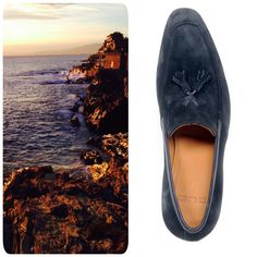 """A curious customer from beautiful New York sent us an email asking why we name all our BUBs with Italian or Spanish City Names. We sent him this photo and wrote: """"... cause this is what inspires us!"""" #shoes #loafers #mensfashion"""