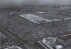 Del Amo Mall of Torrance California circa early 60's. Unknown Photographer.