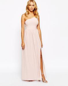 Image 1 - Love - Maxi robe asymétrique près du corps