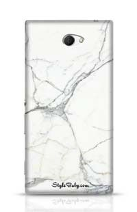 Carrara Marble Sony Xperia M2 Phone Case