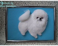 I create my wool sculptures, felt pictures and small brooches, because I love animals very much. I try to make my work look as realistic animals. I do needle felting. This sculpture can be a gift of animal lovers, and it may be a memorial for a loved pets. I can also create for you a portrait of your pet as a puppy or a kitten. You will forever remember how your pet was a kid! My work is of good quality, they are tight to the touch. Sculptures have a size of about 10 inches in height…