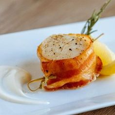 """Scallops One - Two - Three   """"An easy appetizer to make and extremely delicious!"""""""