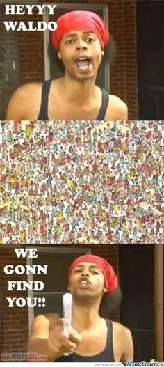 Where's Waldo?? LOL Chili Cook Off here we come!! :))))