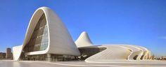 World's Beautiful Landscapes.: The Heydar Aliyev Center in Baku   Azerbaijan
