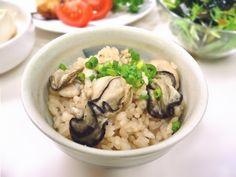 麺つゆで簡単!ふっくら牡蠣ごはんの作り方 | nanapi [ナナピ]