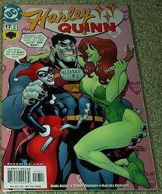 Harley Quinn (DC Comic #17) April 2002 by Poison Ivy, http://www.amazon.com/dp/B000UIIEMI/ref=cm_sw_r_pi_dp_OkF6qb0R3PYJJ