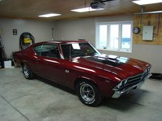 69 Chevelle, not quite as nice as the purple one I owned but still a great car!