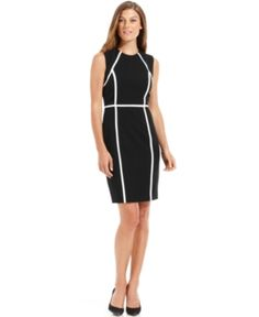 #Calvin Klein             #Women                    #Calvin #Klein #Petite #Dress, #Sleeveless #Colorblock #Trim #Sheath          Calvin Klein Petite Dress, Sleeveless Colorblock Trim Sheath                                            http://www.snaproduct.com/product.aspx?PID=5489501