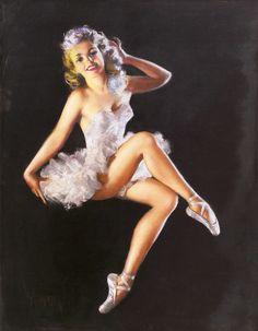 Ballerina Girl (1944) - Zoe Mozert (1907-1993)