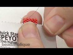 Quick Start Peyote Cards to Make Beading Easier - The Beading Gem's Journal - DIY Seed Beads Video