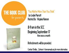 Book Club for Parents!