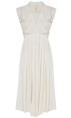 Lace empire line dress from BHS