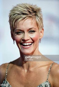 Jessica rowe hairstyle jessica rowe pictures and photos getty images Pixie Haircut For Thick Hair, Short Choppy Hair, Short Spiky Hairstyles, Short Grey Hair, Short Hair Updo, Braided Hairstyles, Hairstyles Videos, Baddie Hairstyles, Casual Hairstyles