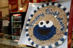 Cookie cake I want to attempt to make!