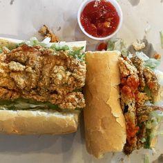 Fried Soft Shell Crab Po Boy Sandwich from Chef John Besh