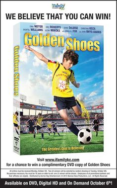 Golden Shoes is now on DVD!!  // For more family resources visit www.ifamilykc.com! :)