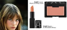 """Love this little tutorial on how to get Jane Birkin's iconic """"natural"""" look. #beauty"""
